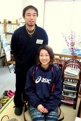 中川 恵 様(藤沢市 大学生) ビーチバレー