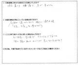 小磯茂代様(主婦・70代)藤沢市遠藤在住直筆メッセージ